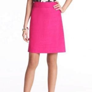 Kate Spade Hot Pink A-line Mini Skirt